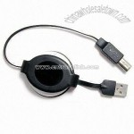 USB 2.0 Cable in Auto Retractable Type