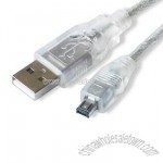 USB 2.0 Cables with Nickel Plating