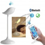 USB Bird Shaped LED Table Lamp Built-in Bluetooth Speaker