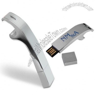 USB Bottle Opener Flash Drive