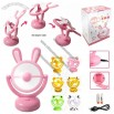 USB Computer Fan Cooler Plastic Rabbit Usb Gadget