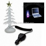USB Crystalline Tree with Color Changing Light