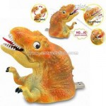 USB Dinosaur with Rotatable Eyes and Protruding Tongue