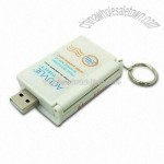 USB Electronic Brochure Webkey with LED Torch