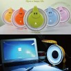 USB Fan with Table Lamp