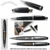 USB Flash Drive Ball Pen 4GB with Touch Screen Stylus