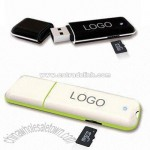 USB Flash Drives with Card Reader
