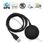 USB GPS Receiver with Magnetic Base for Computers