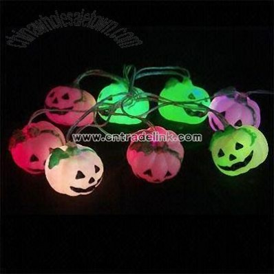 USB Halloween Pumpkin Light String