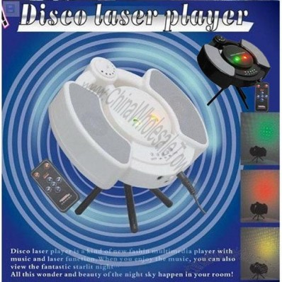 USB Mini Disco Laser MP3 Player