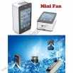 USB Mobile Air Conditioner Summer Mini Fan - iPhone Style