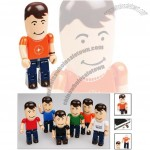 USB People - Male Flash Drive