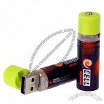 USB Rechargeable AA Battery