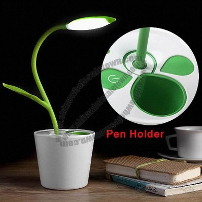 USB Rechargeable Flower Pot Night Light