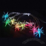USB Snowflake Light String