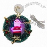 USB Snowman with Lighting-up Santa Color Changing