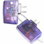 USB Travel Charger for Mobile Phone with Input 90 to 260V, Output 650mAh