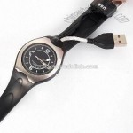 USB Watch Flash Drive with USB 1.1/2.0 Interface and LED Indicator