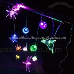 USB Xmas Decor Light (12 LED Lights)