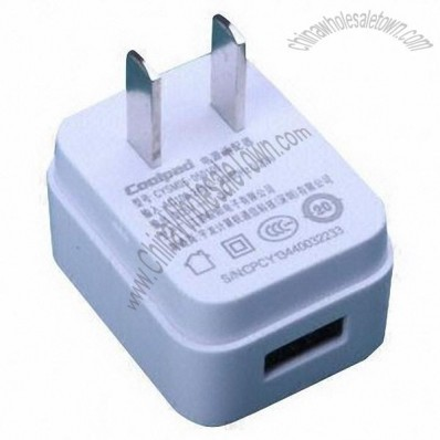 USB charger, 50 or 60Hz frequency