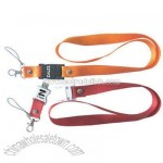 USB flash drive lanyard