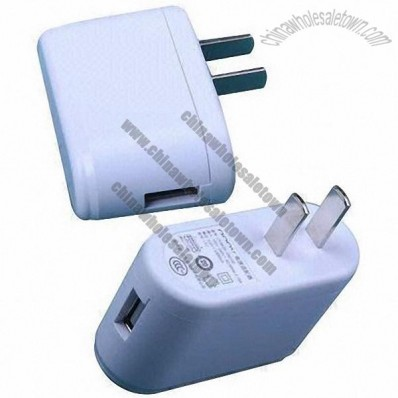 USB mobile phone charger with 5V/2A output, UL, UK, CCC and GS certified