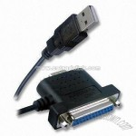 USB to Serial and Parallel Cable with Hot-swap and Plug-and-play Functions