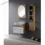 UV Painting Veneer Plywood Bathroom Cabinet