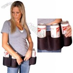 Ultimate Beer Belt Six-Can Holster