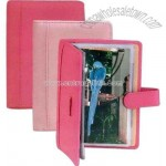 Ultra Bonded leather photo holder
