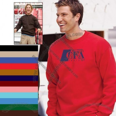 Ultra Cotton Blend Custom Crewneck Sweatshirt - Colors