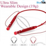 Ultra Slim Wearable Design Bluetooth Headsets