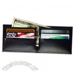 Ultra slim oxford bonded leather billfold