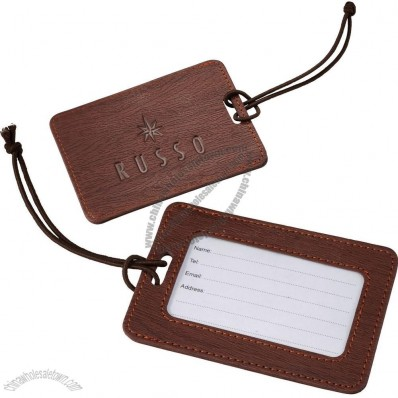 UltraHyde Leather Luggage Tag
