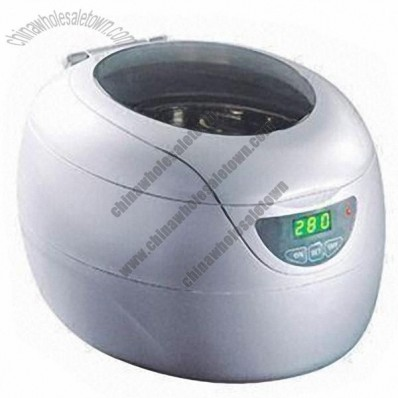 Ultrasonic Cleaner, 750mL Tank Capacity and 3-minute Automatic Cut-off Timer