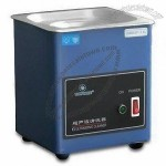 Ultrasonic Cleaner with Highly Cleaning Effect, Adopts One Switch and One Indicator Light