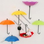 Umbrella Style Wall Mount Self Adhesive Wall Hooks