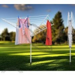 Umbrella Type Clothes Drying Rack