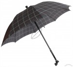 Umbrella with Crutch Walking Stick Handle