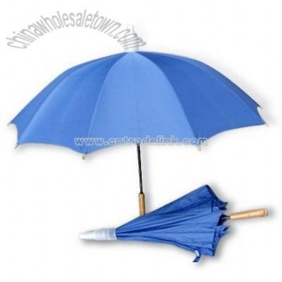 Umbrella with PVC Water Collect