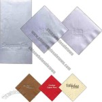Unbleached Recycled Material Single Ply 3/4 Fold Napkin