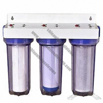 Undersink Water Filter System with Random Combined Filter cartridges