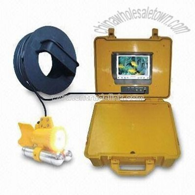 Underwater Camera with 7-inch LCD Underwater Monitor and Water-resistant Plastic Casing