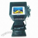 Underwater Color Camera with 5.6-inch TFT Monitor and Rechargeable Battery