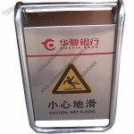 Unfolding Stainless Steel Caution Board