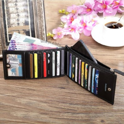 Unisex Slim Credit Card Wallet