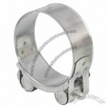 Unitary Hose Clamp With Various Bandwidths And Thicknesses