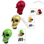 Universal Car Truck Wicked Cracked Skull Stick Shift Gear Knob