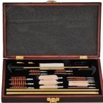 Universal Gun Cleaner Kit with Wood Case