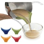 Universal Silicone Slip-On Pour Spout for Pots Pans and Bowls